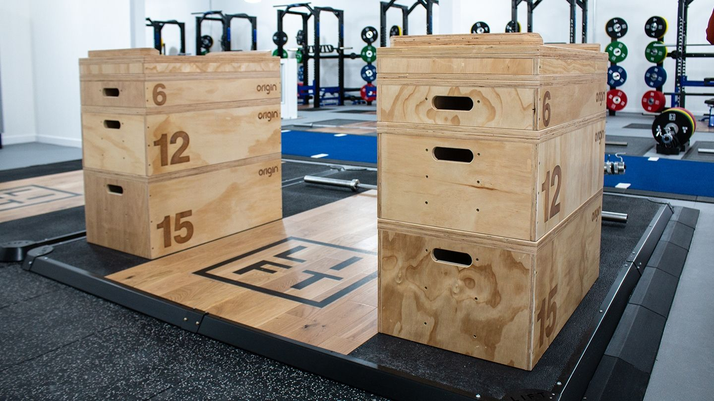 LIFT crossfit area jerk boxes olympic lifting