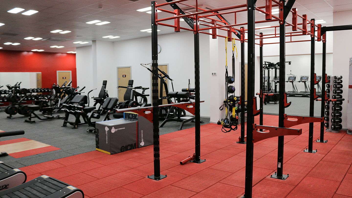 Airdrie Leisure Centre- Free Weights