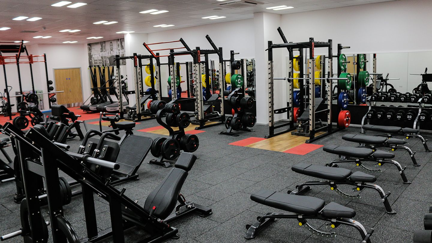 Airdrie Leisure Centre - Free weights