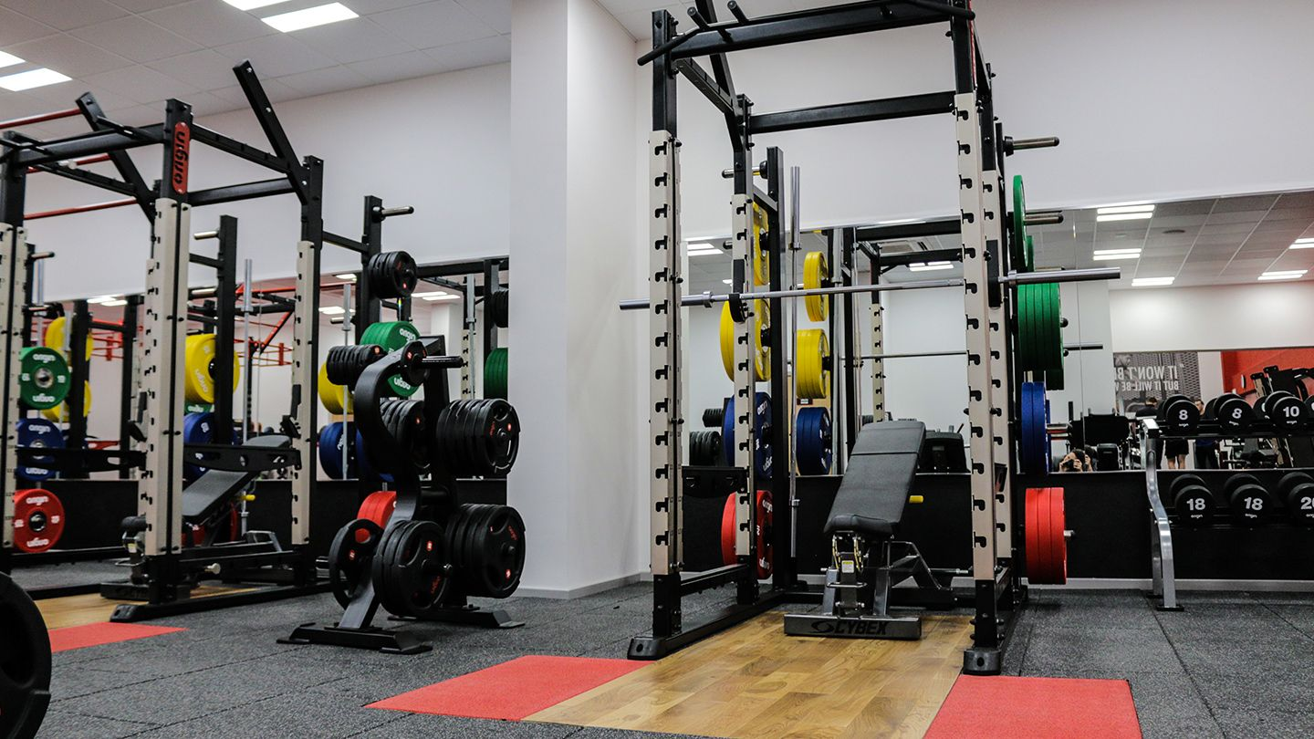 Airdrie Leisure Centre - Free Weight Rack