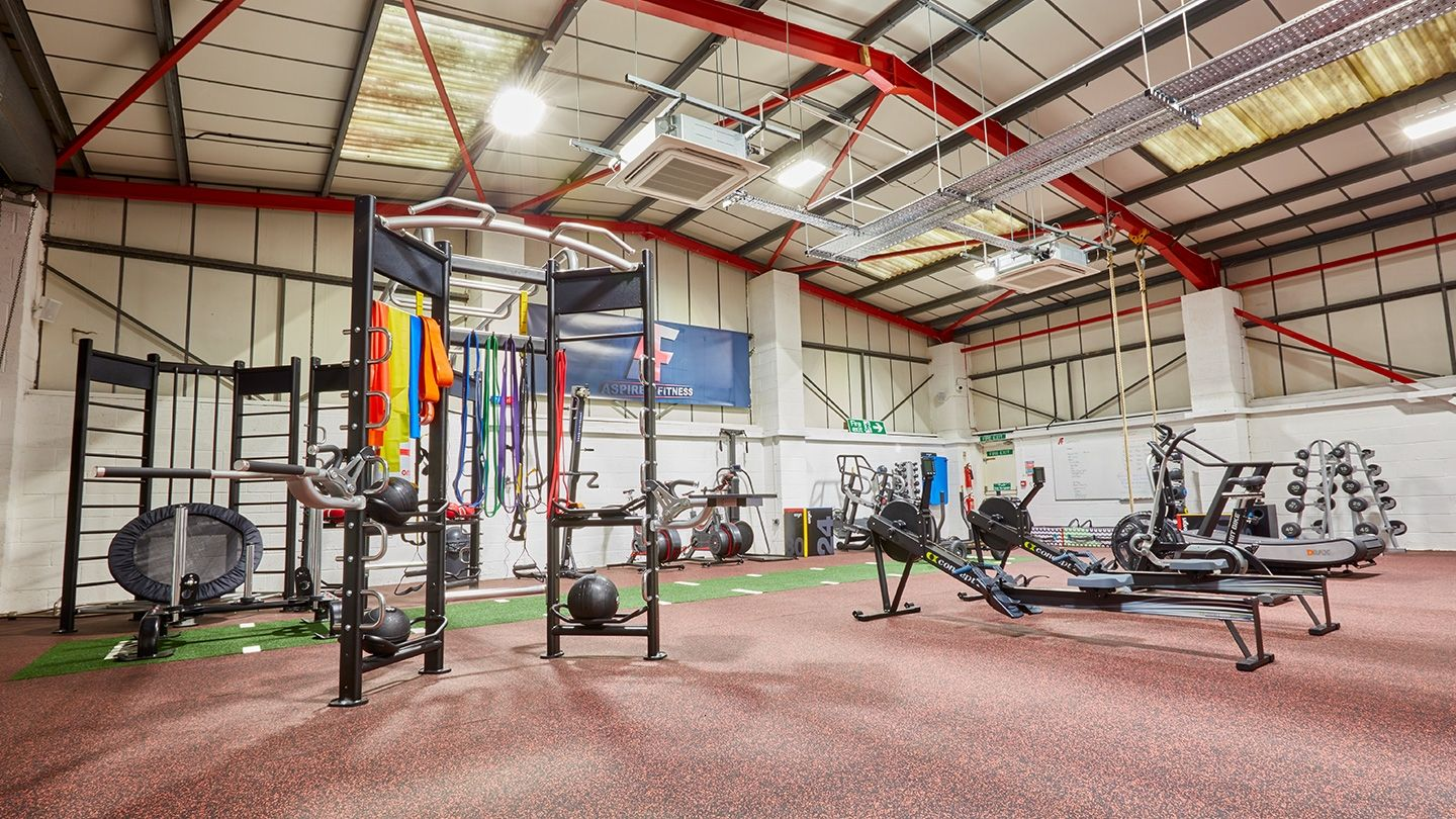 Aspire4Fitness functional HIIT training zone