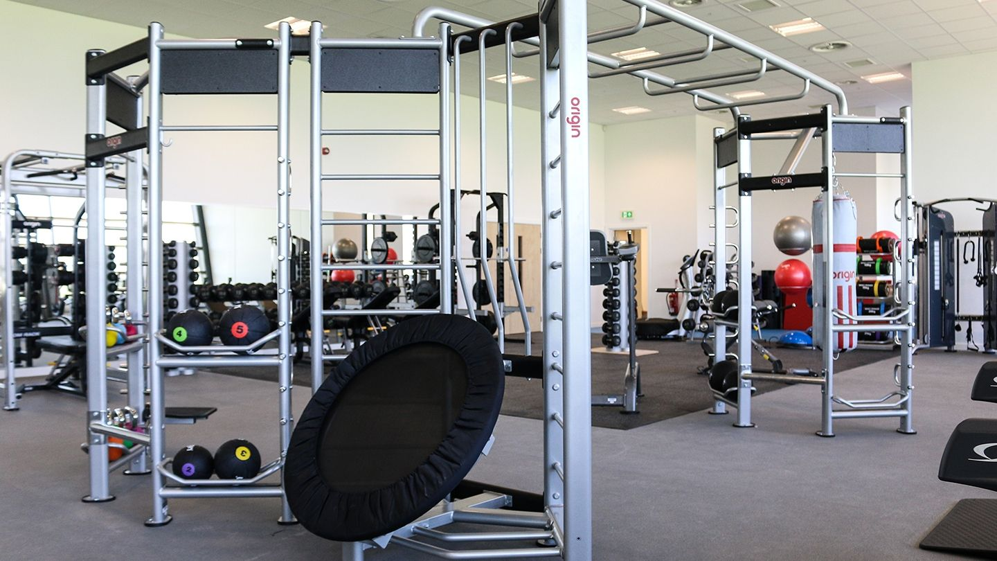 Origin Fitness Functional Training Rig at Midlothian Newbattle Community Campus