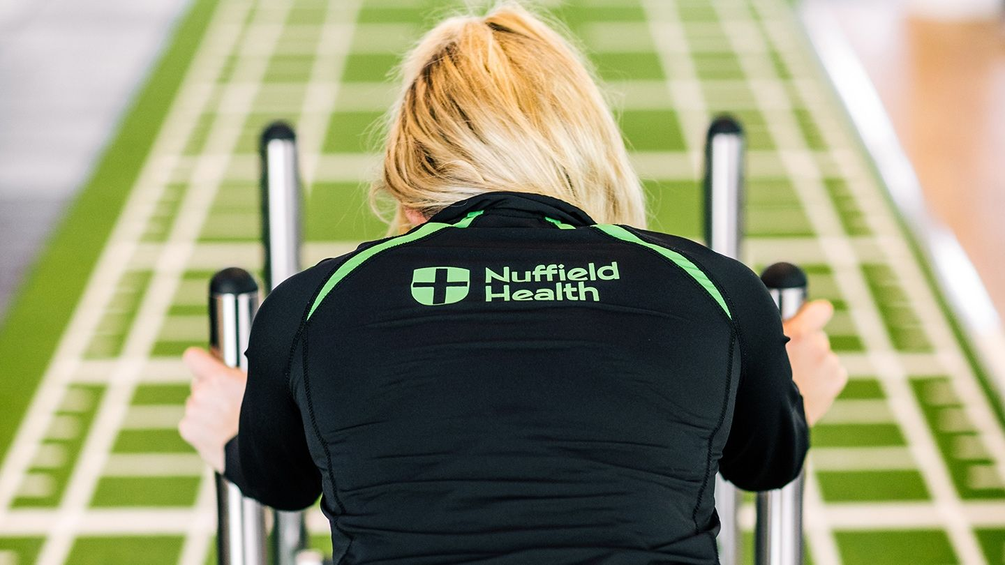 Nuffield Health prowler sprint turf track