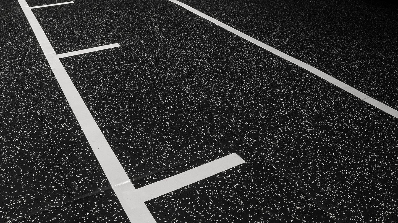 Principal Charlotte Square Studio floor markings