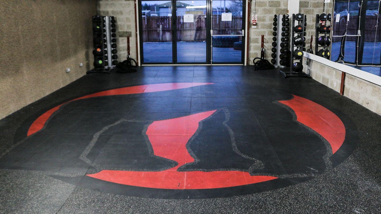 silverback custom branded flooring gorilla logo
