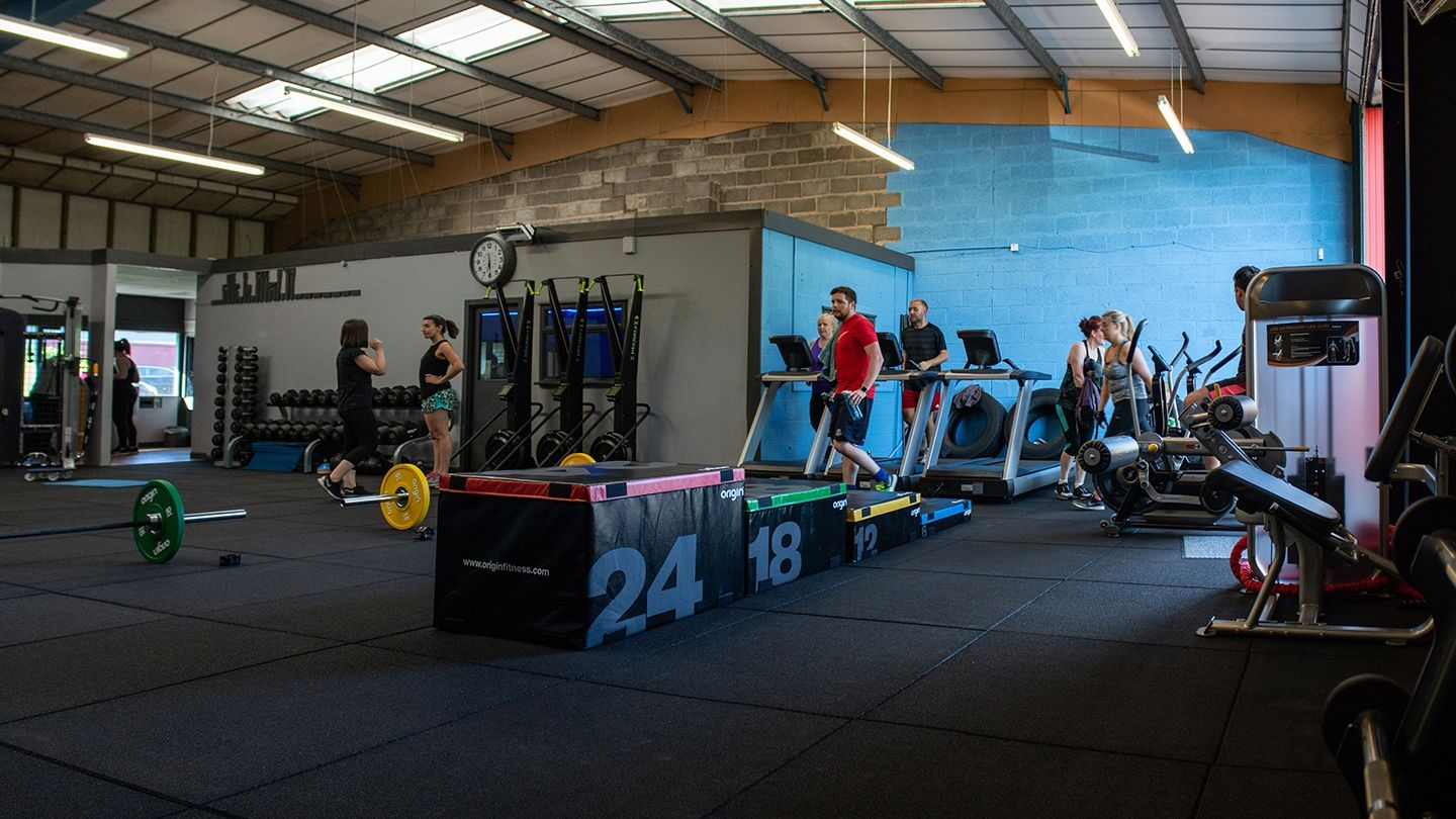Synergy Group Fitness functional zone