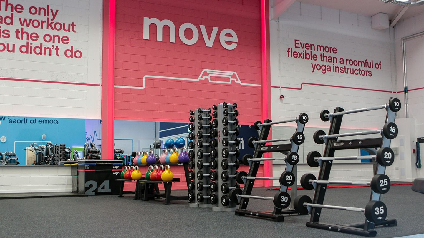 The Gym Group Carlisle Origin Fitness Functional Zone
