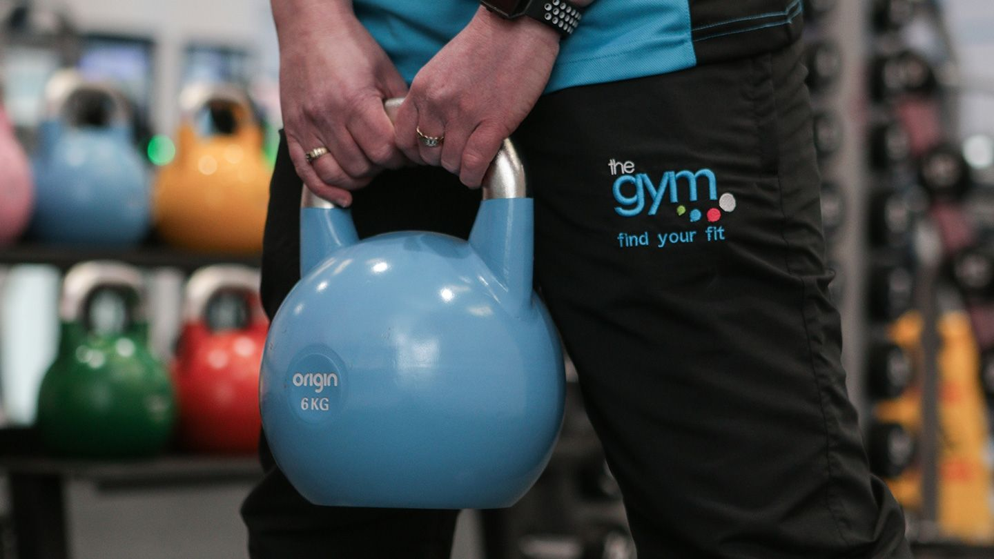 Origin Fitness Kettlebell with Gym Group Uniform