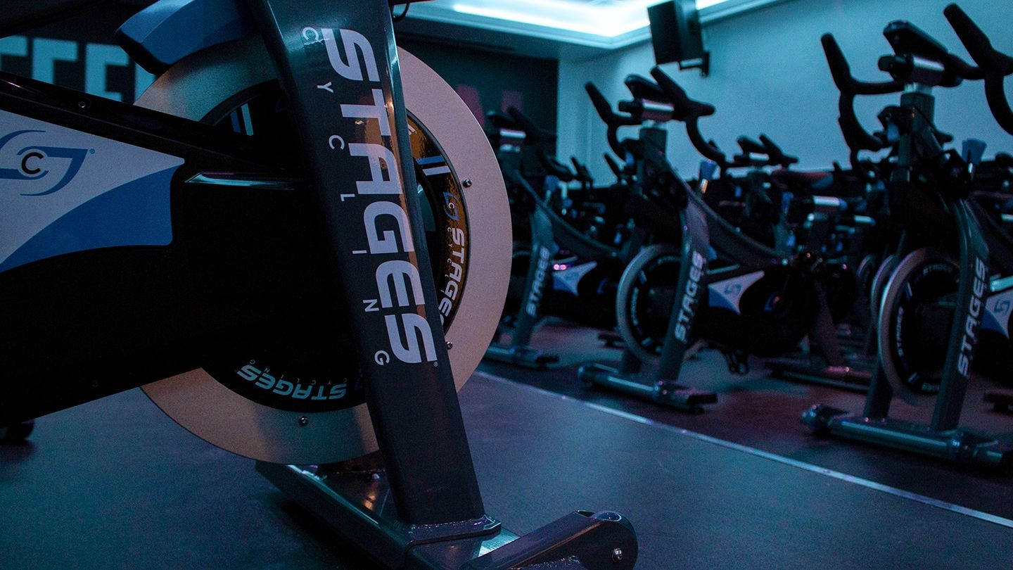 Tryst Stages Indoor Cycling Studio