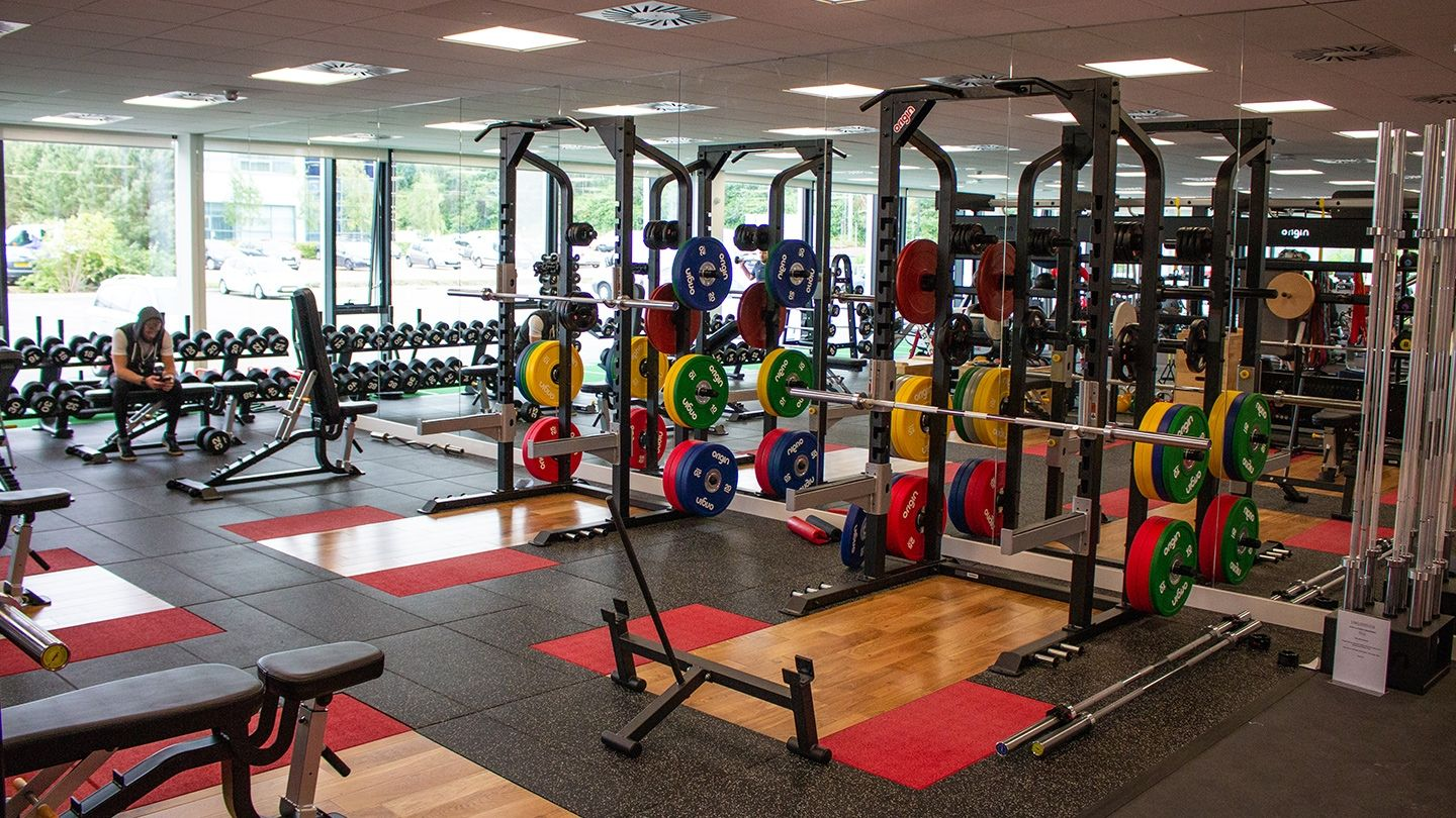 UWS Hamiton Campus Gym Strength Lifting Zone