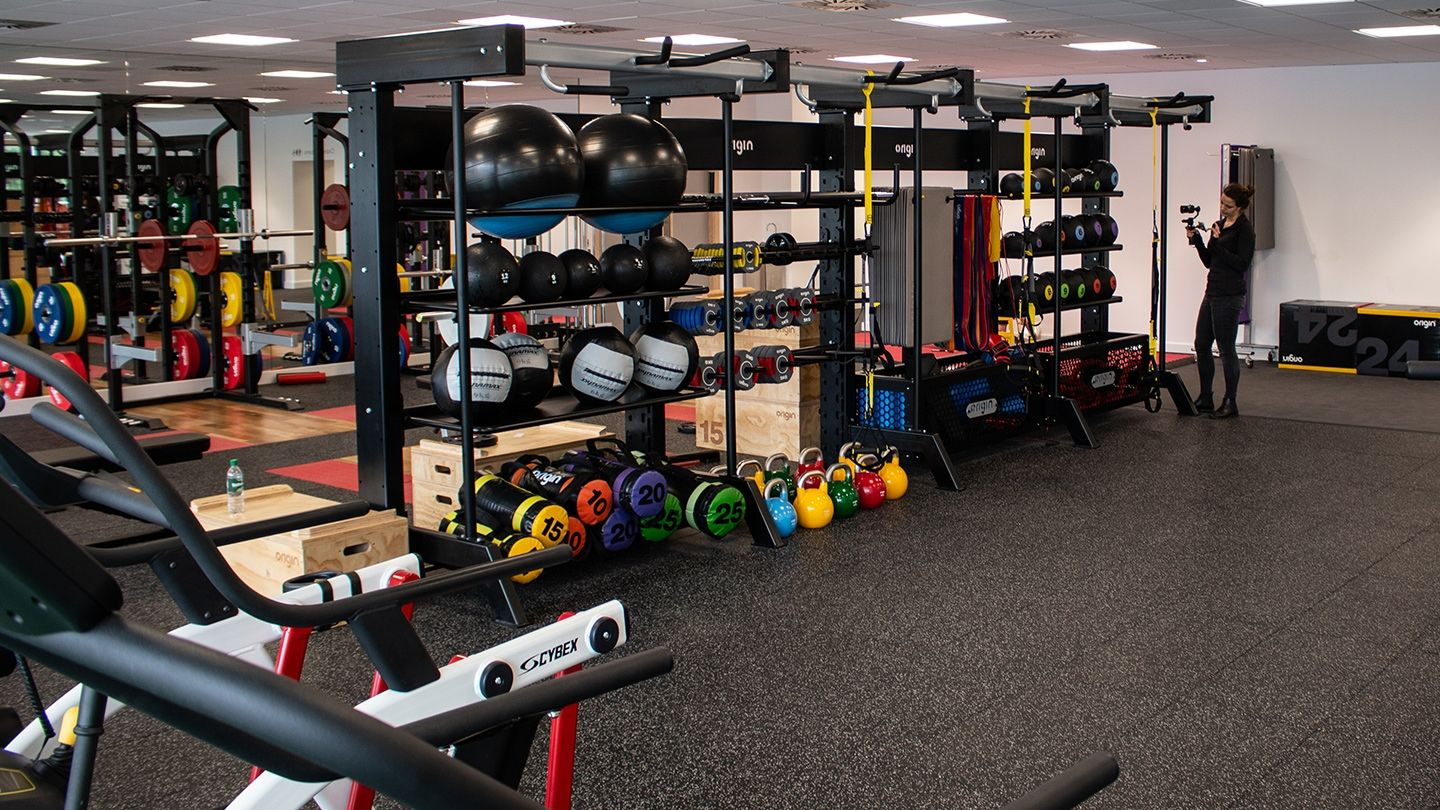 UWS Hamilton International Gym Functional Zone