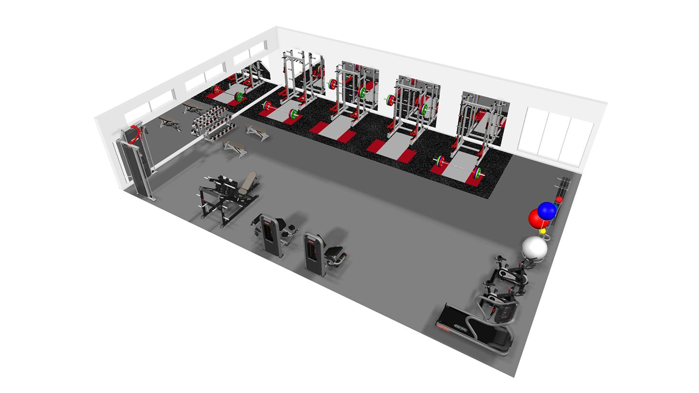 Gym design and planning origin fitness for Gym design software