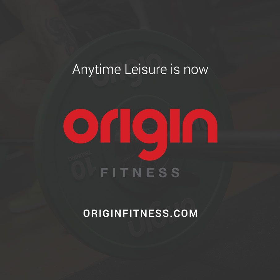 Anytime Leisure is now Origin Fitness