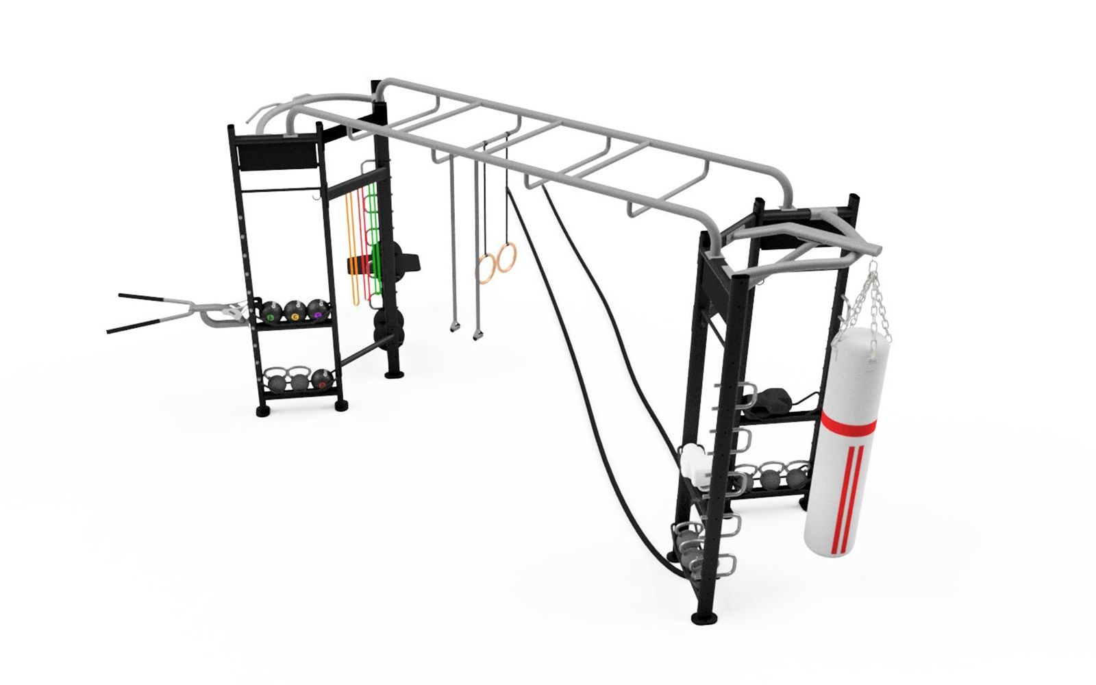 Origin I-Shape Functional Rig with Accessories