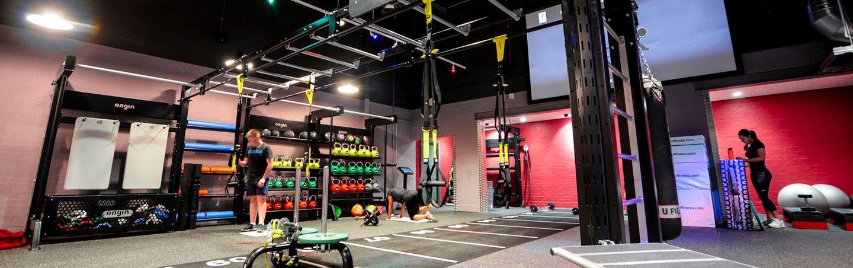 Rhyl leisure centre gym design