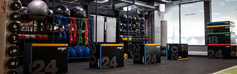Tryst LC north lanarkshire leisure gym design