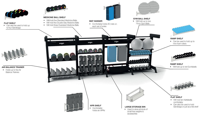 Origin Fitness Modular Storage Rig 1
