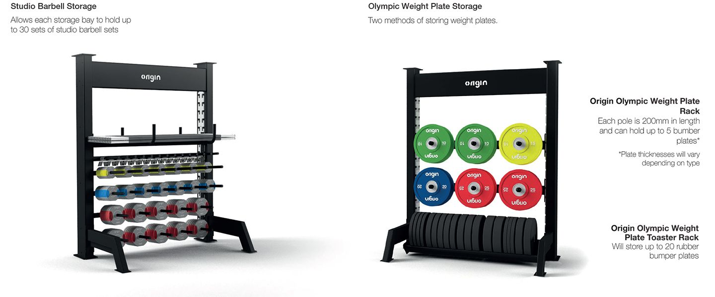 Origin Fitness Modular Storage Rig 2