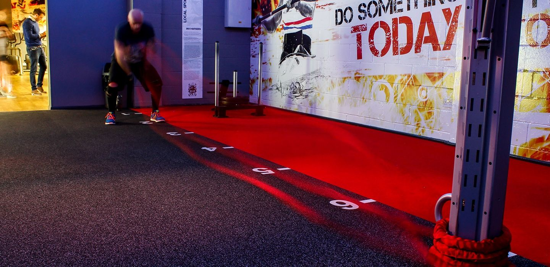 Wallace Centre Gym Flooring Case Study