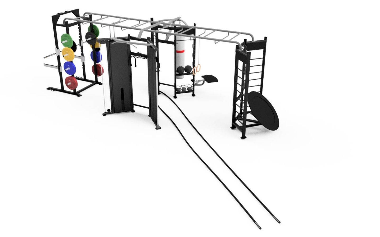 Origin X-Shape Functional Rig with Accessories