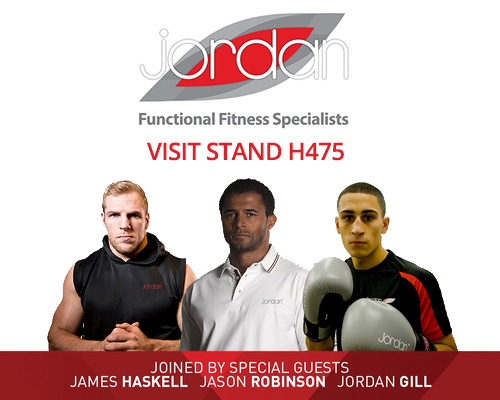 Jordan Fitness at LIW 2013