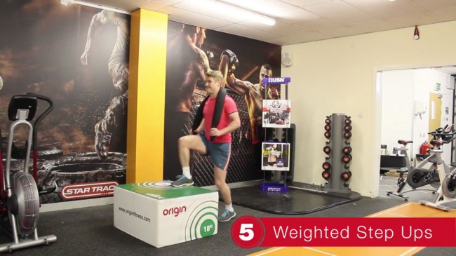 weighted-step-ups-plyo-box-exercise
