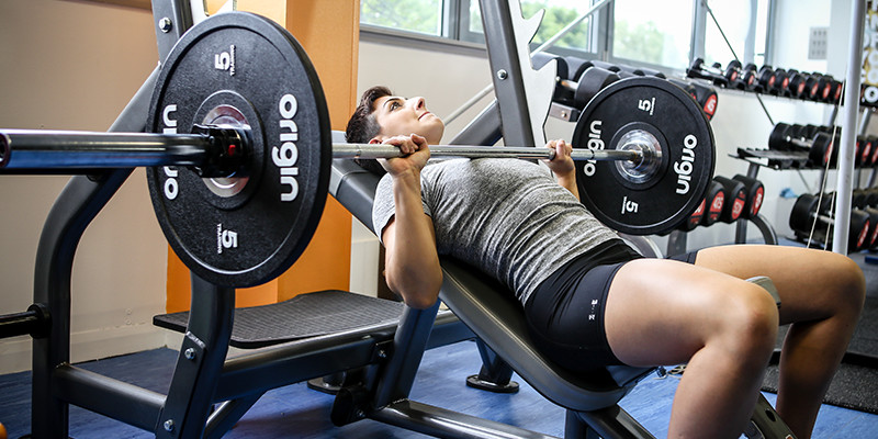 incline weight lifting bench