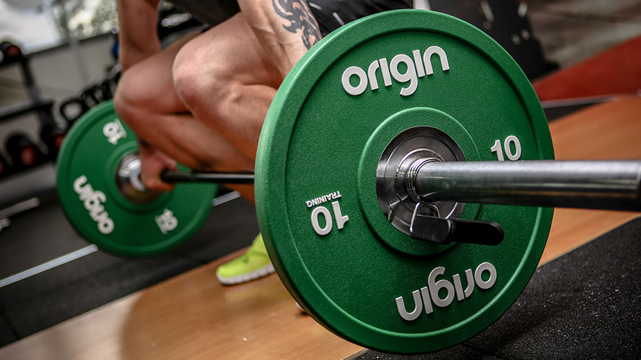 Origin Fitness Bar and Weight Plate