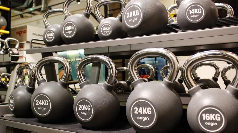 functional gym equipment urethane kettlebell