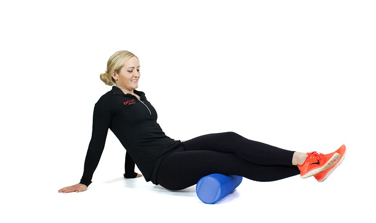 Self myofascial release for your hamstrings