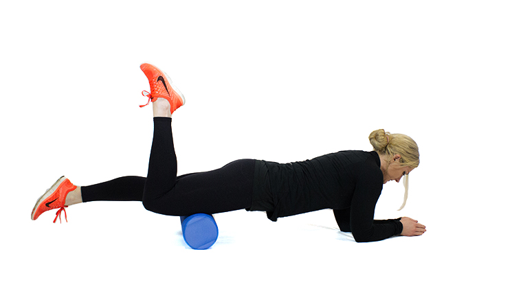 Self myofascial release for your quadriceps