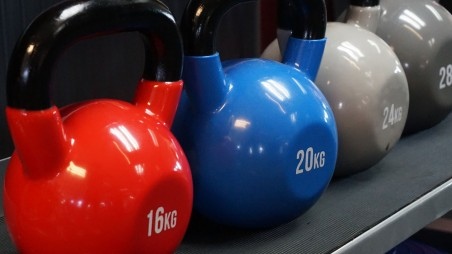 Win Origin Vinyl Coated Kettlebell Set Worth £140