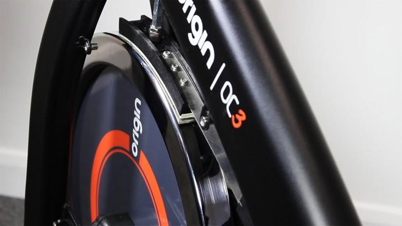 indoor cycle maintenance brake pad flywheel