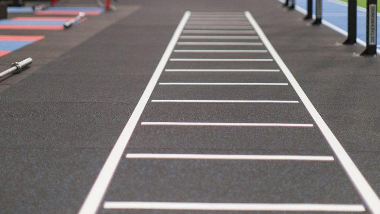 speed gym floor markings