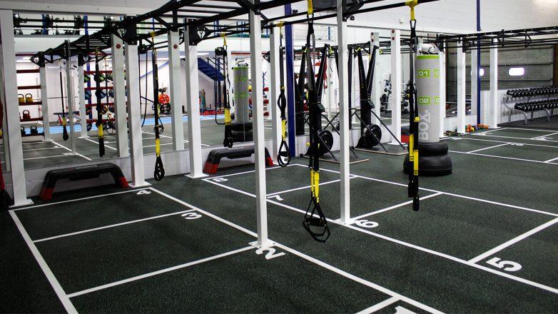 personal zone gym floor markings