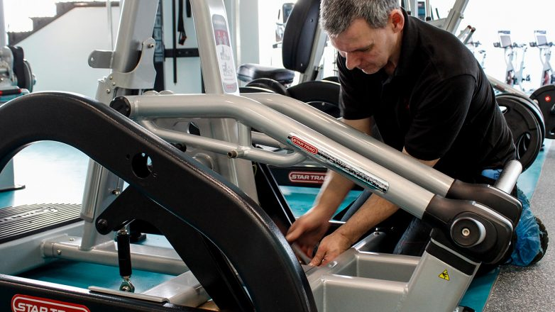 commercial grade fitness equipment service