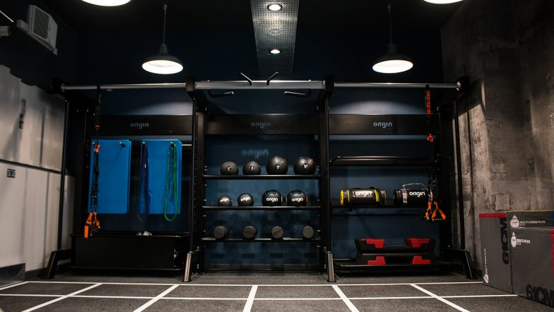 Gym Design Trends - Smart Storage Solutions
